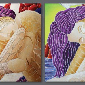 francesco visalli ritratto di donna detail 013