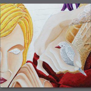 francesco visalli ritratto di donna detail 014