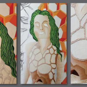 francesco visalli ritratto di donna detail 016