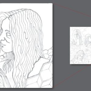 francesco visalli ritratto di donna detail 026