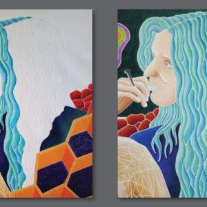 francesco visalli ritratto di donna detail 027