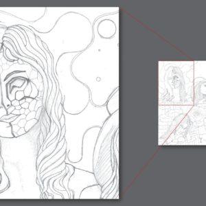francesco visalli ritratto di donna detail 028
