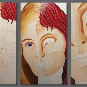 francesco visalli ritratto di donna detail 029