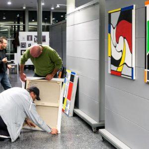 francesco visalli inside mondriaan solo exhibition roma 2014 2015 elsa morante 022 piet mondrian