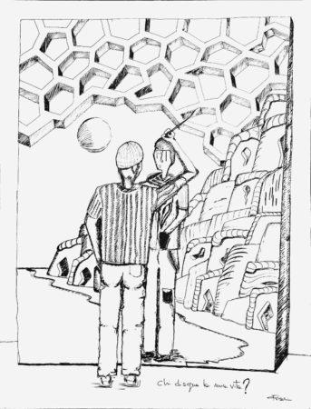 ΓΝΩΘΙ ΣEΑΥΤΟN / conosci te stesso (?) - know thyself (?) / pennarello su tela - marker on canvas / 155,5 x 118,5 - 2011