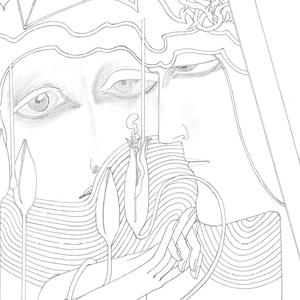 francesco visalli img disegno progetto jan toorop DESIRE AND SATISFACTION