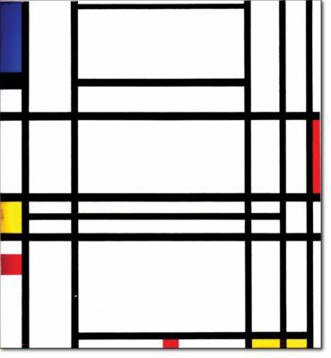 42 - B317 /  composizione CON BLU giallo e rosso - 1938 / 1942