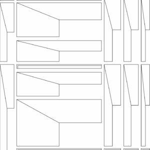 francesco visalli inside mondriaan project B292 disegno 3 piet mondrian
