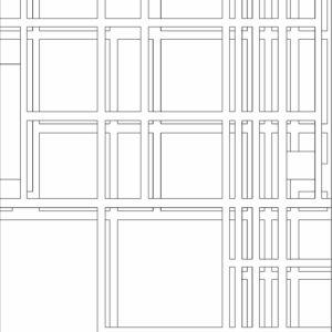 francesco visalli inside mondriaan project B310 disegno 2 piet mondrian