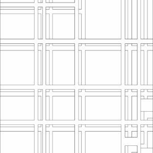 francesco visalli inside mondriaan project B312 disegno 2 piet mondrian