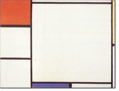 55 NEW / B191 COMPOSIZIONE CON ROSSO, GIALLO E BLU - 1927