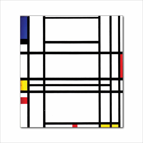 francesco visalli inside mondriaan project cover 42 piet mondrian