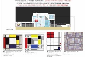 francesco visalli inside mondriaan HOUSE FOR ARTIST opere utilizzate5 piet mondrian