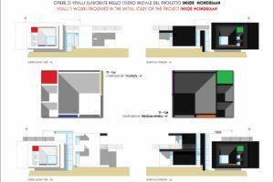 francesco visalli inside mondriaan VULCANO HOUSE opere utilizzate A1 A22 piet mondrian