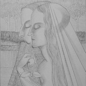 francesco visalli jan toorop project Adam en Eva original drawing jan toorop