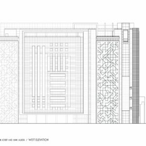 francesco visalli josef and anni albers project twin monoliths west elevation iosef and anni albers