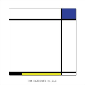 MONDRIAN B171 KOMPOSITION III 1926 FRANCESCO VISALLI