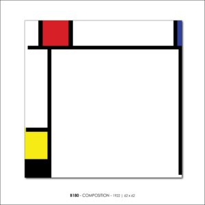 MONDRIAN B180 COMPOSITION 1922 FRANCESCO VISALLI