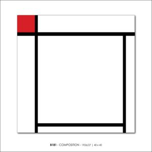 MONDRIAN B181 COMPOSITION 1926 27 FRANCESCO VISALLI