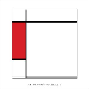 MONDRIAN B186 COMPOSITION 1927 FRANCESCO VISALLI