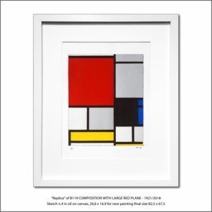 The Disappeared Mondrians Sketches Gallery10 Francesco Visalli Piet Mondrian