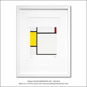The Disappeared Mondrians Sketches Gallery12 Francesco Visalli Piet Mondrian