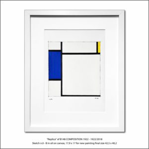 The Disappeared Mondrians Sketches Gallery13 Francesco Visalli Piet Mondrian