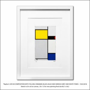 The Disappeared Mondrians Sketches Gallery15 Francesco Visalli Piet Mondrian
