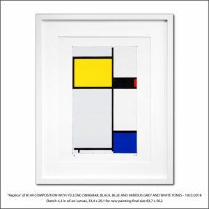 The Disappeared Mondrians Sketches Gallery16 Francesco Visalli Piet Mondrian