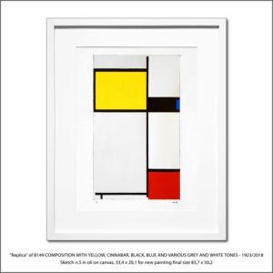 The Disappeared Mondrians Sketches Gallery17 Francesco Visalli Piet Mondrian