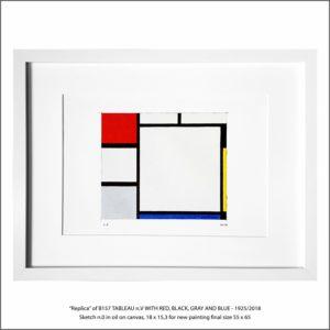 The Disappeared Mondrians Sketches Gallery18 Francesco Visalli Piet Mondrian