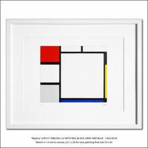 The Disappeared Mondrians Sketches Gallery19 Francesco Visalli Piet Mondrian