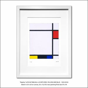 The Disappeared Mondrians Sketches Gallery20 Francesco Visalli Piet Mondrian