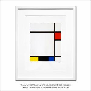The Disappeared Mondrians Sketches Gallery23 Francesco Visalli Piet Mondrian