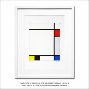 The Disappeared Mondrians Sketches Gallery24 Francesco Visalli Piet Mondrian