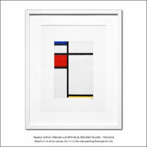 The Disappeared Mondrians Sketches Gallery26 Francesco Visalli Piet Mondrian