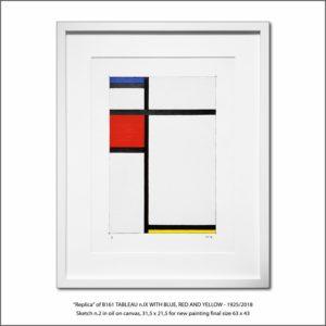 The Disappeared Mondrians Sketches Gallery27 Francesco Visalli Piet Mondrian