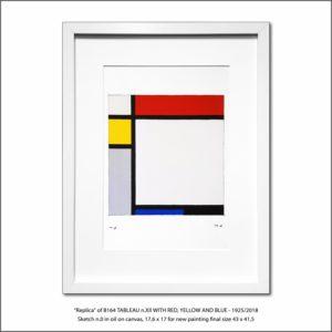 The Disappeared Mondrians Sketches Gallery28 Francesco Visalli Piet Mondrian