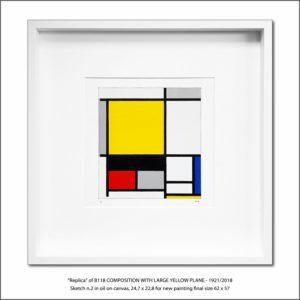 The Disappeared Mondrians Sketches Gallery2 Francesco Visalli Piet Mondrian
