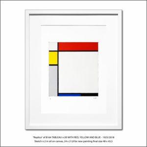 The Disappeared Mondrians Sketches Gallery30 Francesco Visalli Piet Mondrian