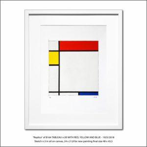 The Disappeared Mondrians Sketches Gallery31 Francesco Visalli Piet Mondrian