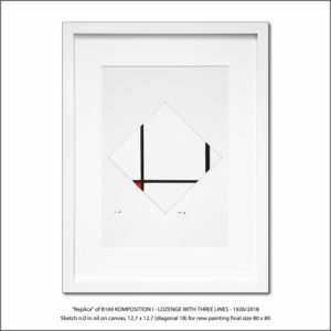 The Disappeared Mondrians Sketches Gallery32 Francesco Visalli Piet Mondrian