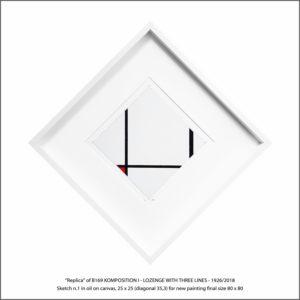 The Disappeared Mondrians Sketches Gallery33 Francesco Visalli Piet Mondrian