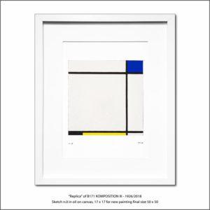 The Disappeared Mondrians Sketches Gallery34 Francesco Visalli Piet Mondrian