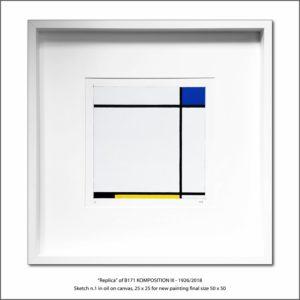 The Disappeared Mondrians Sketches Gallery35 Francesco Visalli Piet Mondrian