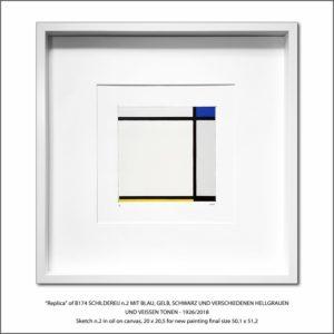 The Disappeared Mondrians Sketches Gallery37 Francesco Visalli Piet Mondrian