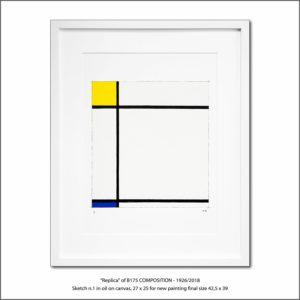 The Disappeared Mondrians Sketches Gallery39 Francesco Visalli Piet Mondrian