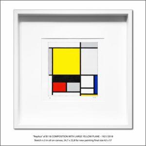 The Disappeared Mondrians Sketches Gallery3 Francesco Visalli Piet Mondrian