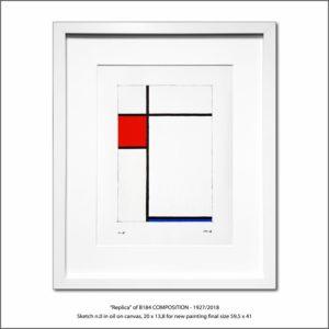 The Disappeared Mondrians Sketches Gallery46 Francesco Visalli Piet Mondrian