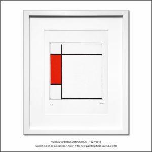 The Disappeared Mondrians Sketches Gallery47 Francesco Visalli Piet Mondrian